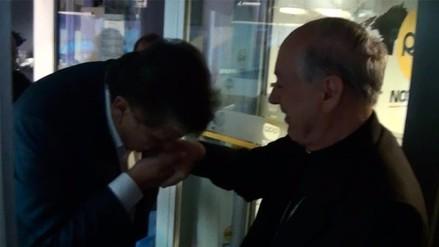 El encuentro entre Alan García y Juan Luis Cipriani