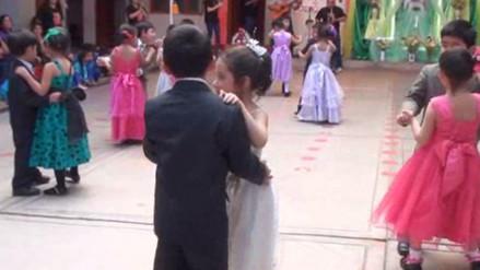 Niños participaron de fiesta por el Día de la Canción Criolla