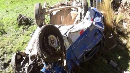 Seis personas fallecidas tras la caída de camioneta a un abismo en el Vraem