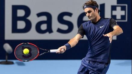 Roger Federer venció a Rafael Nadal y campeonó en Basilea