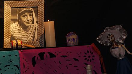 Día de los Muertos: Chespirito tuvo colorido altar en Paraguay
