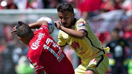 Toluca, con Christian Cueva, cayó por 3-2 ante América por la Liga MX