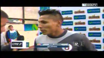 Universitario de Deportes: Raúl Ruidíaz contó su secreto para anotar de tiro libre