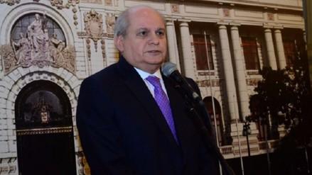 Cateriano apunta a resolver discrepancia con Chile por la vía diplomática