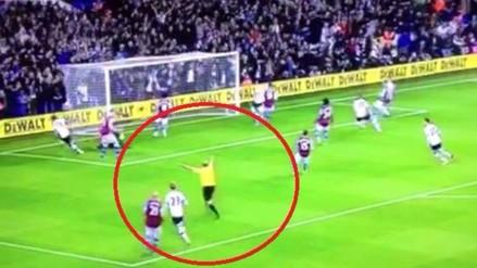 Youtube: árbitro es acusado de festejar gol de Tottenham en la Premier League