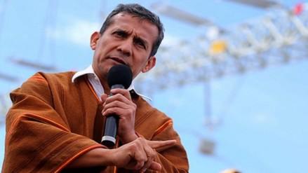 Humala pide continuidad de las políticas sociales de Estado