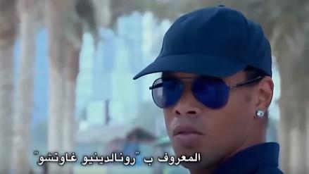 YouTube: Ronaldinho Gaúcho hace de las suyas como guardia de seguridad