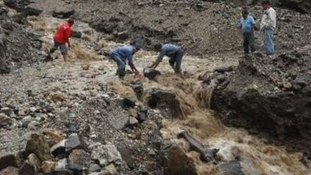 Bagua: profesores y estudiantes se salvaron de morir sepultadas por huayco