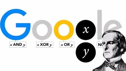 Google recuerda a George Boole, padre de las ciencias computacionales