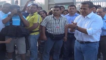 Presidente Humala llega esta tarde a Lambayeque para supervisar obras por FEN