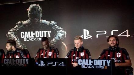 YouTube: jugadores del Milan retaron a expertos en Call of Duty Black Ops III