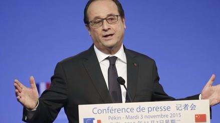 François Hollande: China debe ejercer papel de liderazgo en COP21