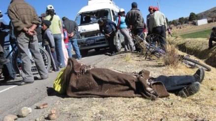 Beneficiario de Pensión 65 muere en accidente en vía Desaguadero – Ilo