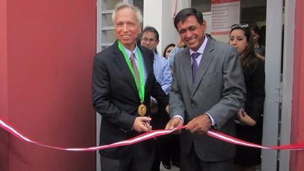 Ferreñafe: ministro de Justicia inauguró el único módulo de justica en la región