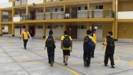 Trujillo: escolares sufren desmayos por falta de alimentos