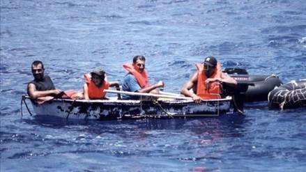 EE.UU. repatría a 43 inmigrantes cubanos interceptados en el mar