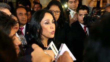 Fiscalización citó a Nadine Heredia para este 9 de noviembre