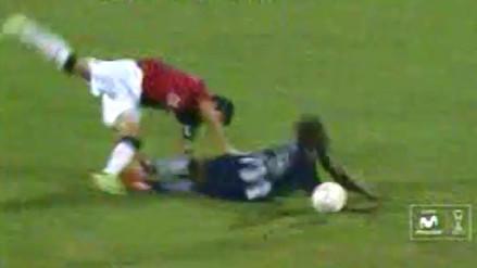Alianza Lima vs. Melgar: Eduardo Uribe se ganó la roja por esta acción