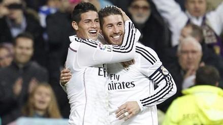Instagram: Sergio Ramos 'censuró' a James Rodríguez con foto en el vestuario