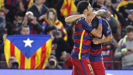 Barcelona venció por 3-0 al BATE con goles de Neymar y Suárez por la Champions League