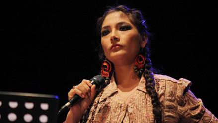 Magaly Solier rechaza reconocimiento del Congreso de la República
