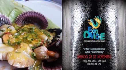 Cuarta edición de ExpoCeviche 2015 en Sao Paulo