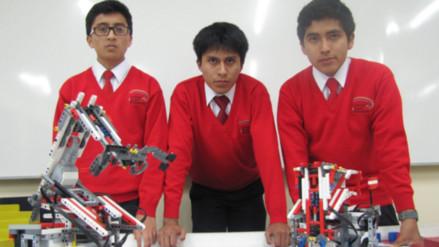 Escolares peruanos participarán en Olimpiada Mundial de Robótica en Catar
