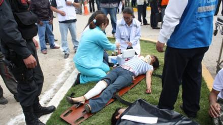 Niño murió al ser alcanzado por aparatoso choque en Cajamarca