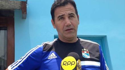 Sporting Cristal: Daniel Ahmed justificó la derrota porque su equipo no durmió