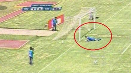 Sport Huancayo vs. Sporting Cristal: Diego Penny nuevamente responsable de un blooper
