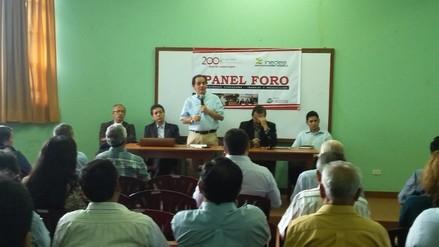 Lambayeque: inauguran panel foro sobre Seguridad Ciudadana y Producción