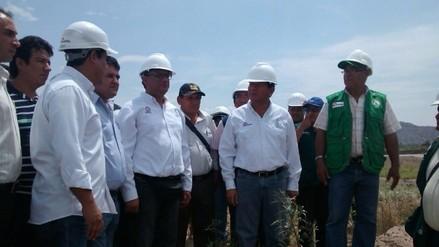 El Niño: obras de prevención en río Utcubamba están avanzadas en un 60 %