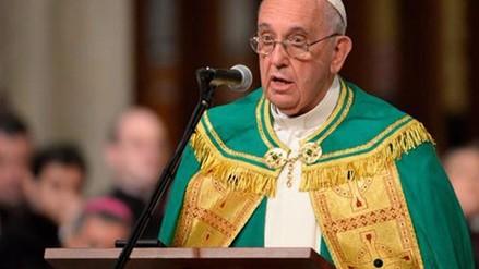 El papa: Líderes de la Iglesia no pueden llevar una vida de faraones