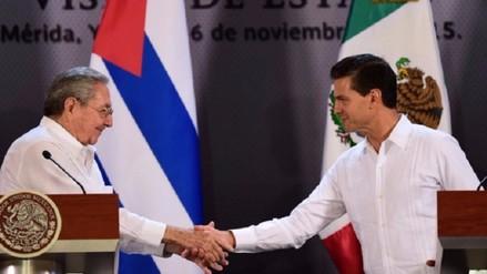 Peña Nieto y Raúl Castro renuevan relación y confirman extraordinario momento