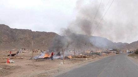 Virú: Desalojan a más de 200 familias que invadieron zona intangible