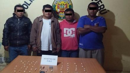 PNP desbarata red de comercialización de droga en distrito azucarero de Cayaltí