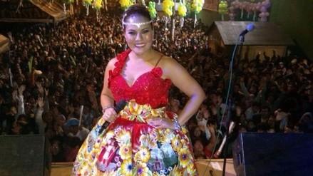 Dina Páucar celebrará bodas de plata con megaconciertos