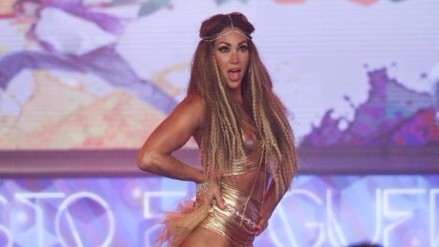 Reyes del Show: Melissa Loza pagará penalidad por no bailar