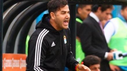 Sporting Cristal: Daniel Ahmed negó que existan nervios en su plantel