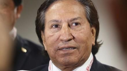 Toledo llegó al Congreso para responder ante la Comisión Orellana