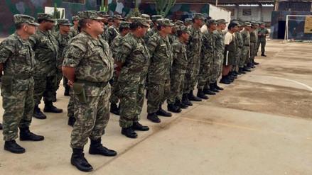 Lambayeque: 1 600 soldados listos para atender emergencias por