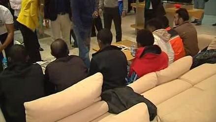 Llegan a Madrid los primeros refugiados procedentes de Italia