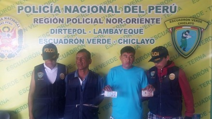 Sujetos son intervenidos por la policía cuando adquirían billetes falsos