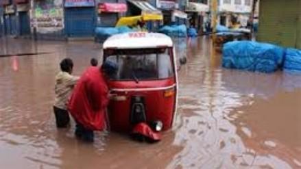 San Román: inicio de temporada de lluvias empieza causar estragos en Juliaca
