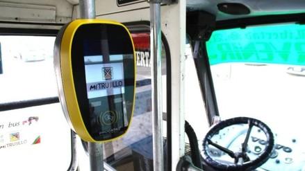 Inicia circulación de buses modelo para la ruta Trujillo-El Porvenir-Río Seco
