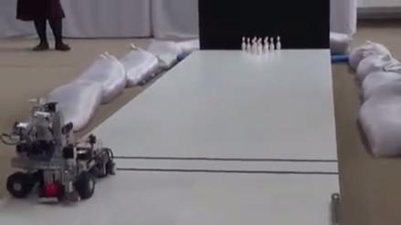 Cajamarquinos logran el sexto lugar en mundial de robótica en Qatar