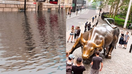 ¿Cómo impactaría el calentamiento global a Nueva York o Londres?