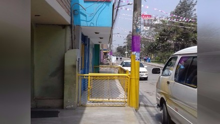 WhatsApp: Colegio se apropia de vía pública en Chaclacayo