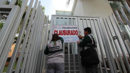 Municipio de San Isidro clausuró local de la Asociación de AFP