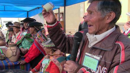 Primer encuentro de saberes productivos se realizó en Pitumarca
